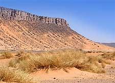Photo showing the Sahara Desert