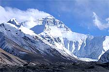Image of Mount Everest, photo taken by Rupert Taylor-Price
