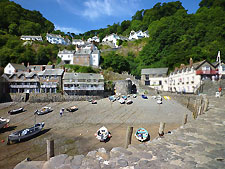 Image of Clovelly, Devon, England, UK, photo by Franzfoto