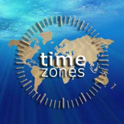 World Time Zones: International Time Zone Map and Global Digital ...