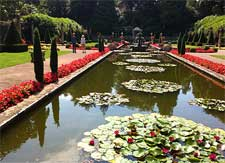 Picture of the Italian garden at Compton Acres, Poole