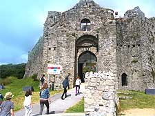 Photo of Oystermouth Castle Ruins