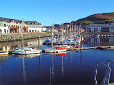 Image of the harbourfront in Aberystwyth, Ceredigion, West Wales