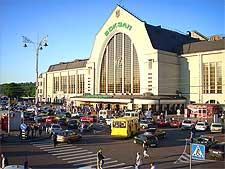 Photo of the Passazhirsiy railway station in Kiev, Ukraine, taken by Elio DM