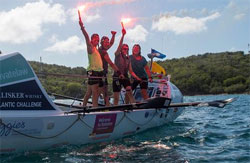 Image of the Yorkshire Rows team and their boat