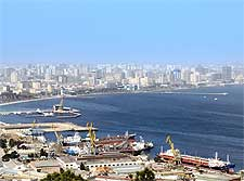 Photo of Baku, the Azerbaijan capital