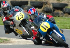 Image of road motorcycle racing at the Isle of Man TT races, photo by Adrian Baker
