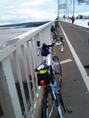 Image taken from the Old Severn Bridge
