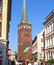 View of the cathedral (domkirke)