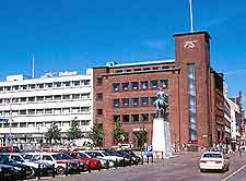 Aarhus Airport (AAR) Hotels and Accommodation: Picture of the city centre