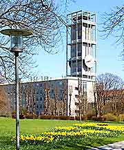 View of the modernist City Hall (Radhus)