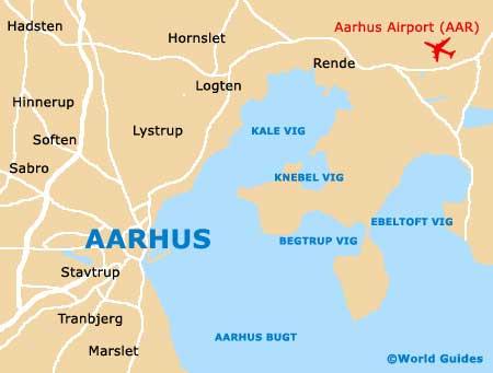 Small Aarhus Map