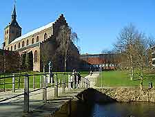 Scenic view of Odense city centre