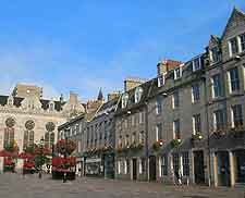 Picture of the Castlegate area of the city
