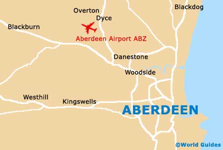 Small Aberdeen Map