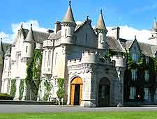 Close-up picture of Balmoral Castle