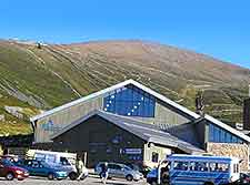 Photo of vehicles park in the Cairngorms National Park