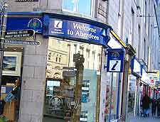 City centre photo, showing the Tourist Information Office