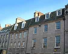 View of period buildings standing on Union Street