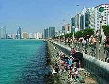Further picture of Abu Dhabi's Corniche