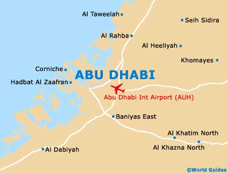 Small Abu Dhabi Map