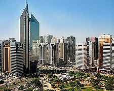View over Abu Dhabi