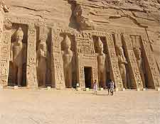 Further photo of the Temple of Hathor (Nefertari)
