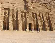 Further photo of the Temple of Hathor (Nefertari)