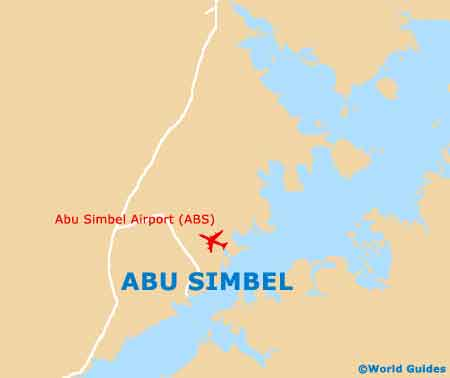 Small Abu Simbel Map
