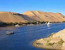 Photo of River Nile leading to Aswan