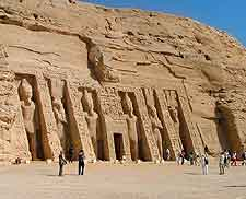Photo of the wondrous Temple of Hathor