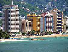 Coastal photo of Acapulco's bay
