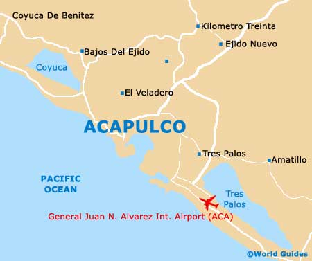 Small Acapulco Map