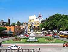 Central photo of Cuernavaca