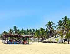 Image showing the Pie de la Cuesta beachfront