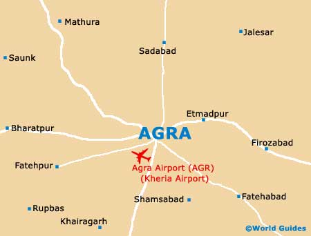 Small Agra Map