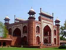 View of the Red Fort entrance