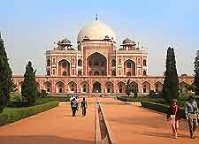 View of Humayuns Tomb, which is situated near New Delhi