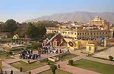 View of the Jantar Mantar, Jaipur