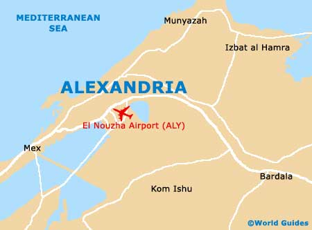 Small Alexandria Map