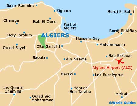 Algeria Maps And Orientation Algeria North Africa - Algeria map