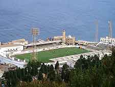 Image showing the Omar Hammadi Stadium in Algiers