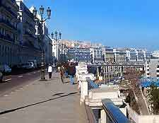 Picture of promenade in Algiers