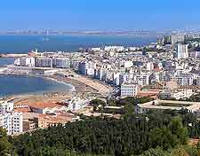 Coastal picture of Algiers