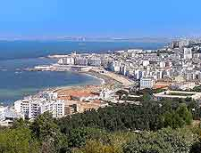 Algiers coastal view