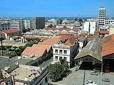 Aerial picture of the Belouizdad Quarter in Algiers