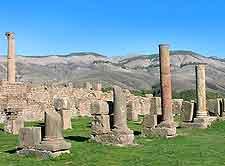 Photo of Roman ruins in Djemila
