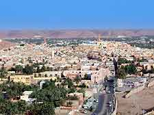 Picture showing the town of Ghardaia