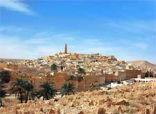 Ghardaia skyline picture