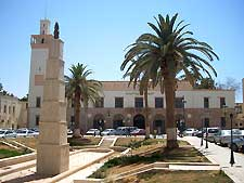 Picture of the General Peoples Congress Building in Benghazi, Libya
